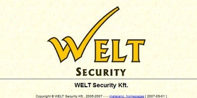 Welt Security - MATEJANO.COM